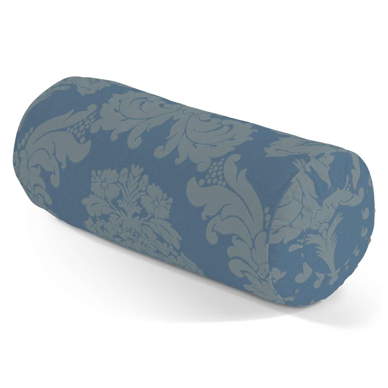 Poduszka wałek z zakładkami w kolekcji Damasco, tkanina: 613-67