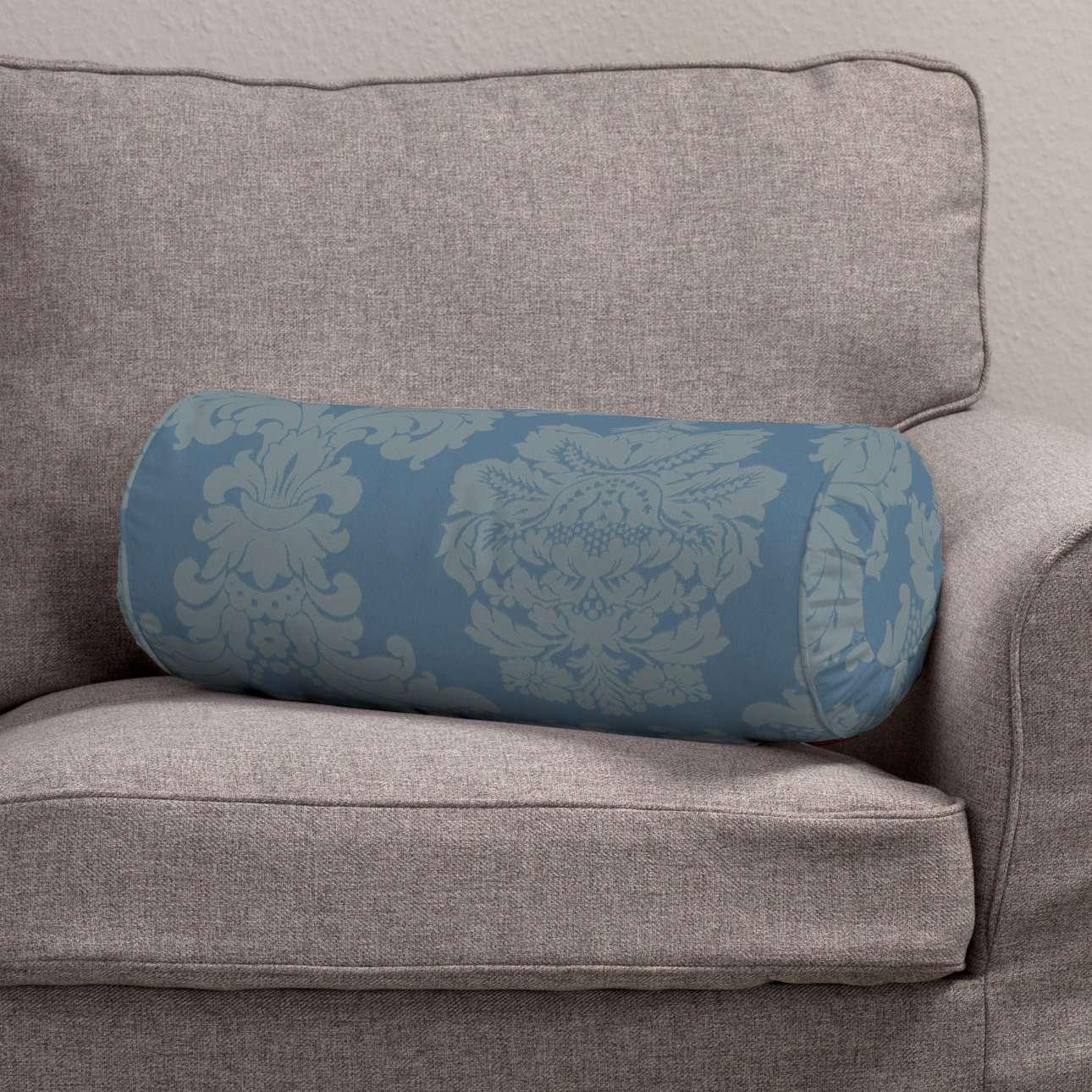 Valček so záložkami Ø 20 x 50 cm V kolekcii Damasco, tkanina: 613-67
