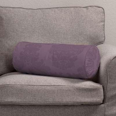 Ritinio formos  pagalvėlė su klostėmis 613-75 tamsiai purpurinė  Kolekcija Damasco