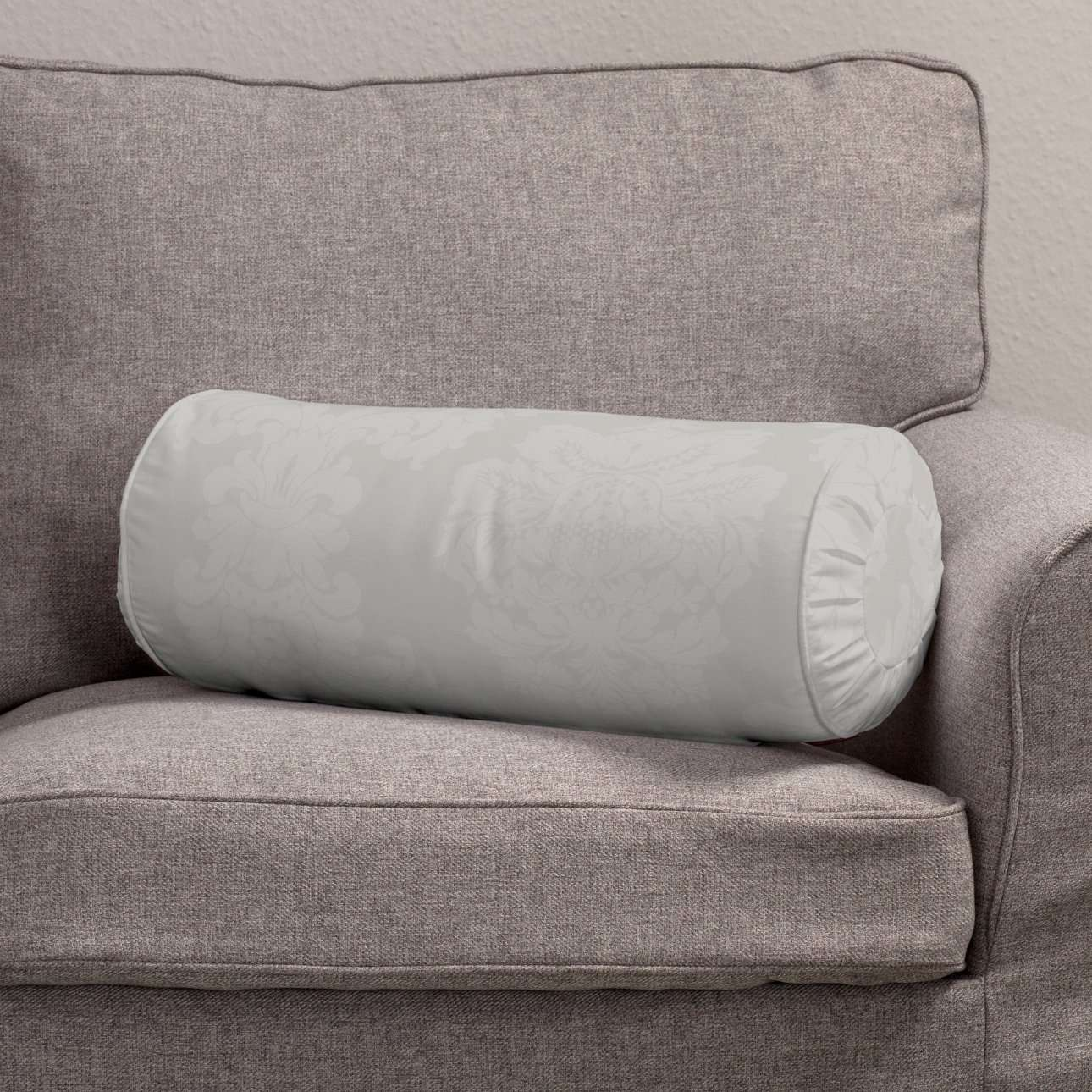 Bolster cushion with pleats in collection Damasco, fabric: 613-81