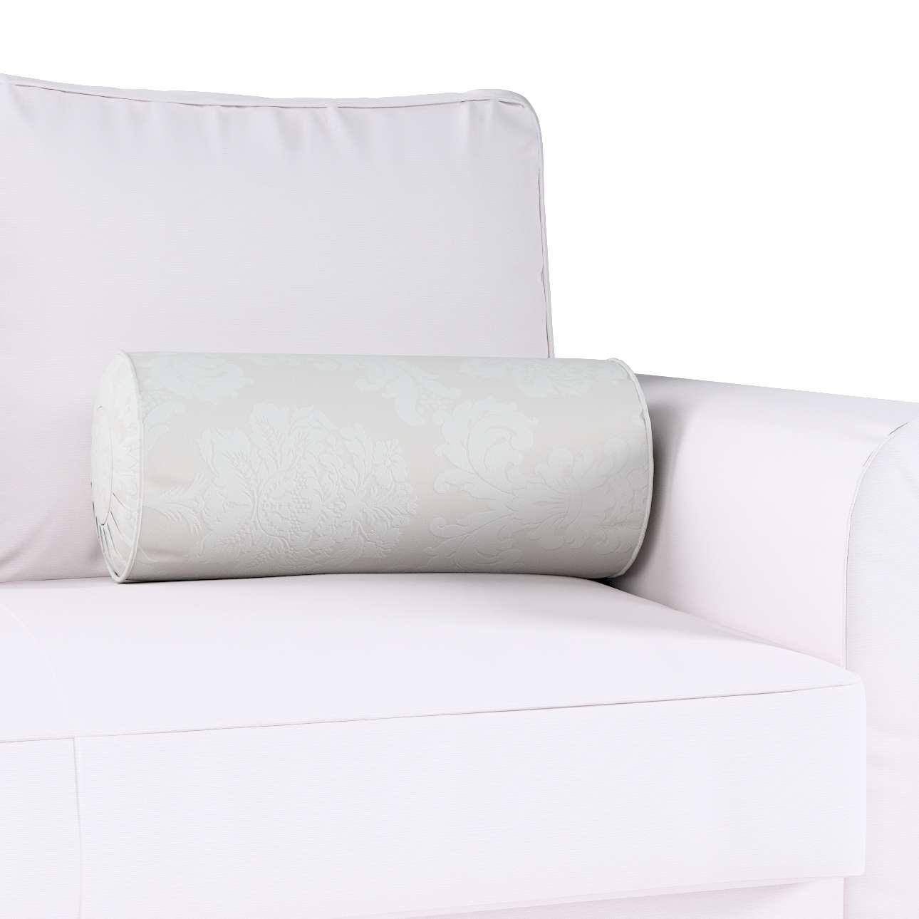 Ritinio formos  pagalvėlė su klostėmis Ø 20 x 50 cm kolekcijoje Damasco, audinys: 613-81