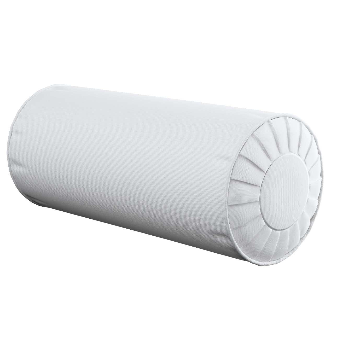 Ritinio formos  pagalvėlė su klostėmis Ø 20 x 50 cm kolekcijoje Loneta , audinys: 133-02