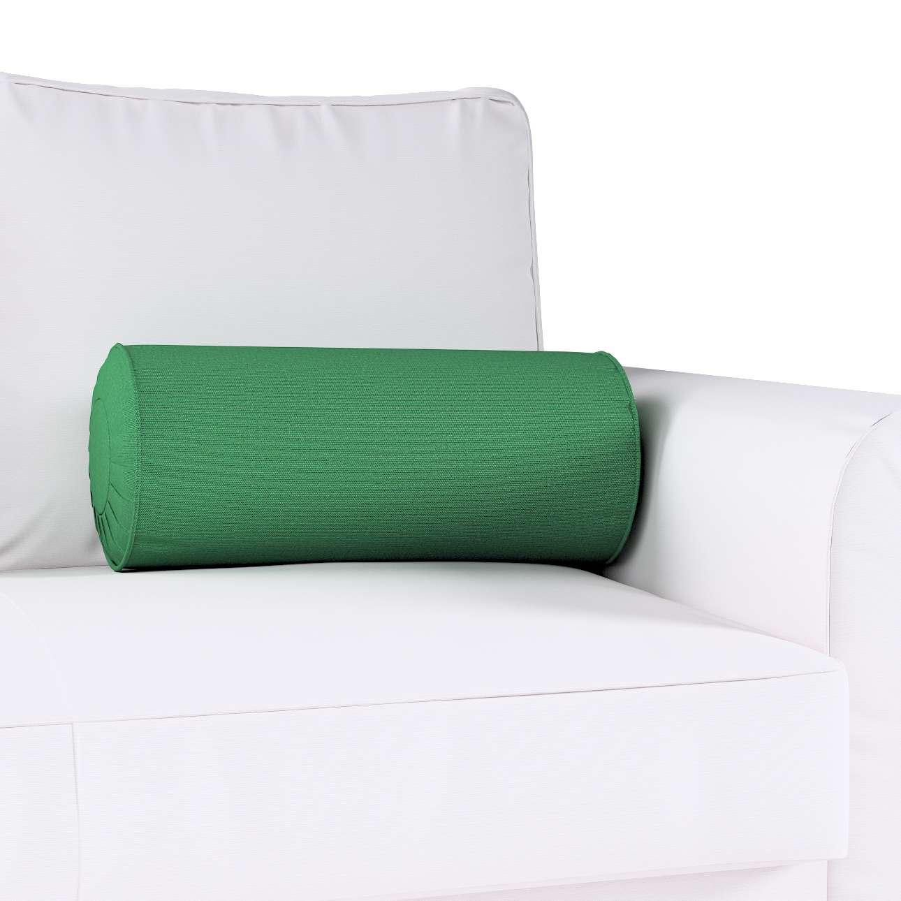 Poduszka wałek z zakładkami w kolekcji Loneta, tkanina: 133-18