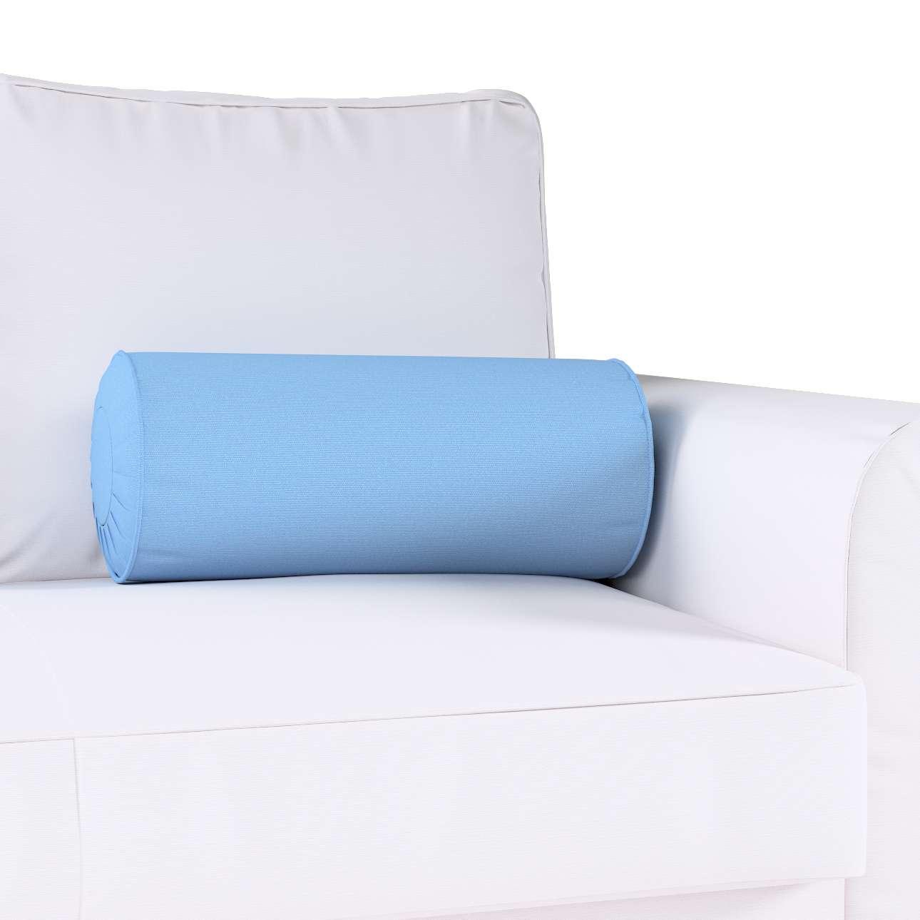 Poduszka wałek z zakładkami w kolekcji Loneta, tkanina: 133-21