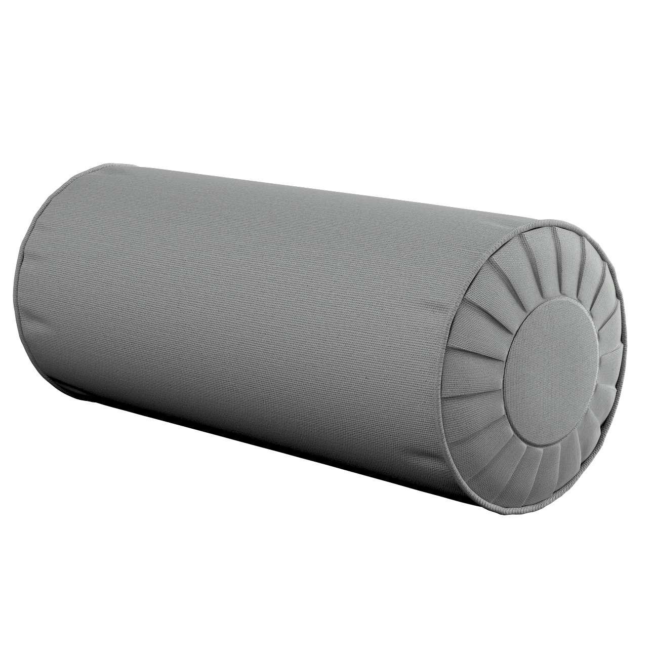 Ritinio formos  pagalvėlės užvalkalas su klostėmis Ø 20 x 50 cm kolekcijoje Loneta , audinys: 133-24