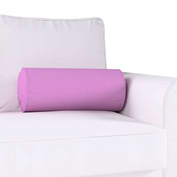 Bolster cushion with pleats Ø 20 × 50 cm (8 × 20 inch) in collection Loneta , fabric: 133-38