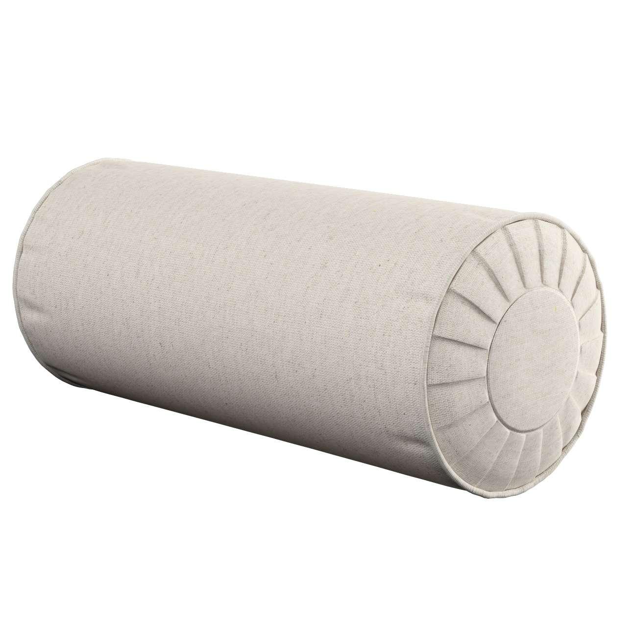 Ritinio formos  pagalvėlės užvalkalas su klostėmis Ø 20 x 50 cm kolekcijoje Loneta , audinys: 133-65