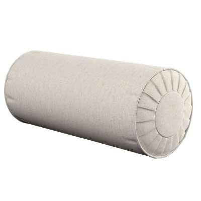 Poduszka wałek z zakładkami w kolekcji Loneta, tkanina: 133-65