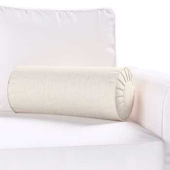 Bolster cushion with pleats in collection Loneta , fabric: 133-65