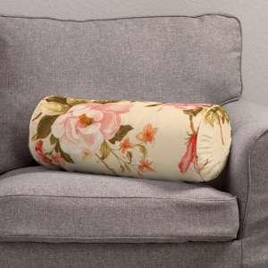 Ritinio formos  pagalvėlė su klostėmis Ø 20 x 50 cm kolekcijoje Londres, audinys: 123-05