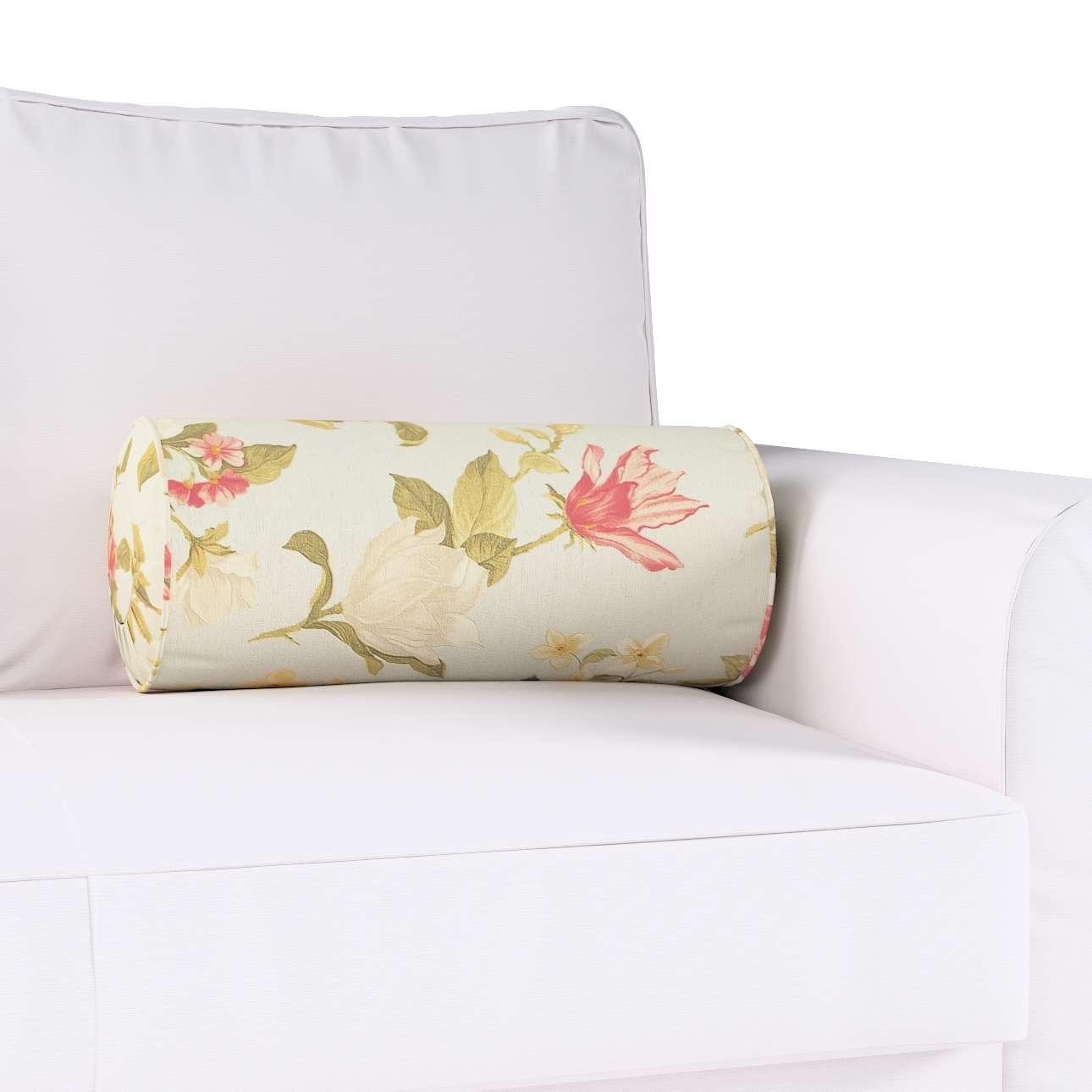 Ritinio formos  pagalvėlė su klostėmis Ø 20 × 50 cm kolekcijoje Londres, audinys: 123-65