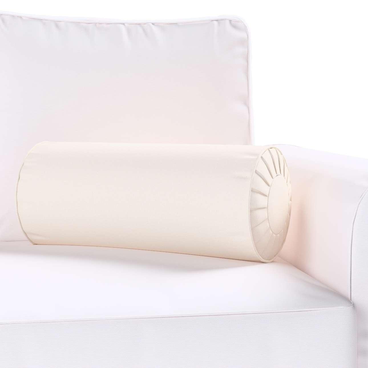 Ritinio formos  pagalvėlės užvalkalas su klostėmis Ø 20 x 50 cm kolekcijoje Etna , audinys: 705-01