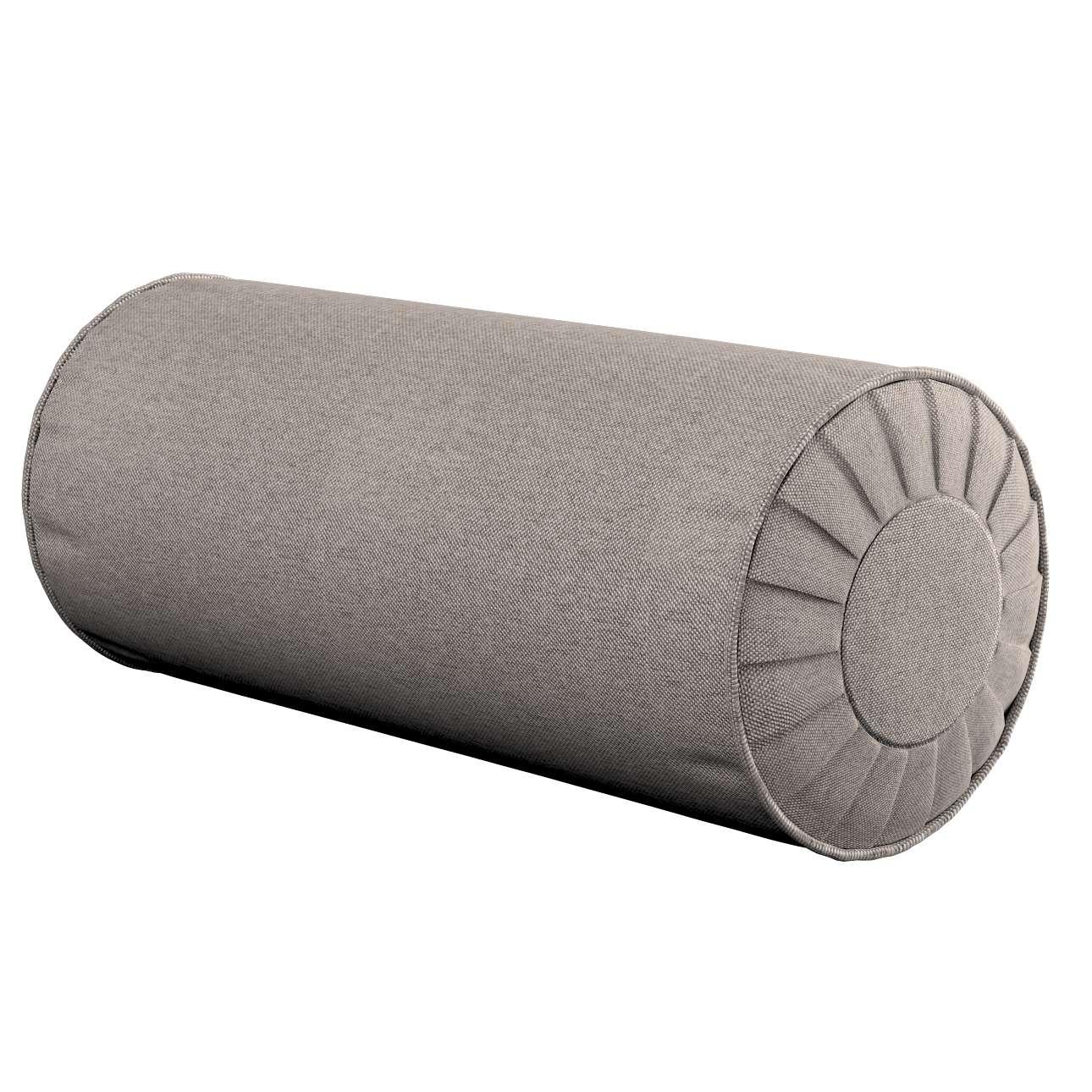 Ritinio formos  pagalvėlė su klostėmis Ø 20 x 50 cm kolekcijoje Etna , audinys: 705-09
