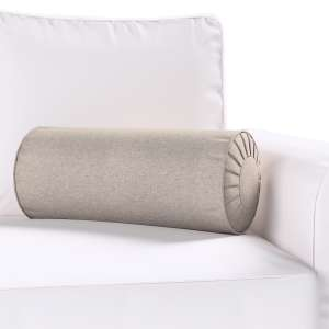 Ritinio formos  pagalvėlės užvalkalas su klostėmis Ø 20 x 50 cm kolekcijoje Etna , audinys: 705-09