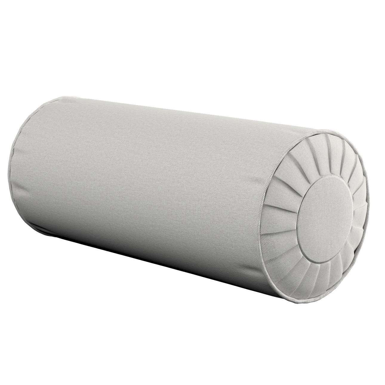 Ritinio formos  pagalvėlės užvalkalas su klostėmis Ø 20 x 50 cm kolekcijoje Etna , audinys: 705-90