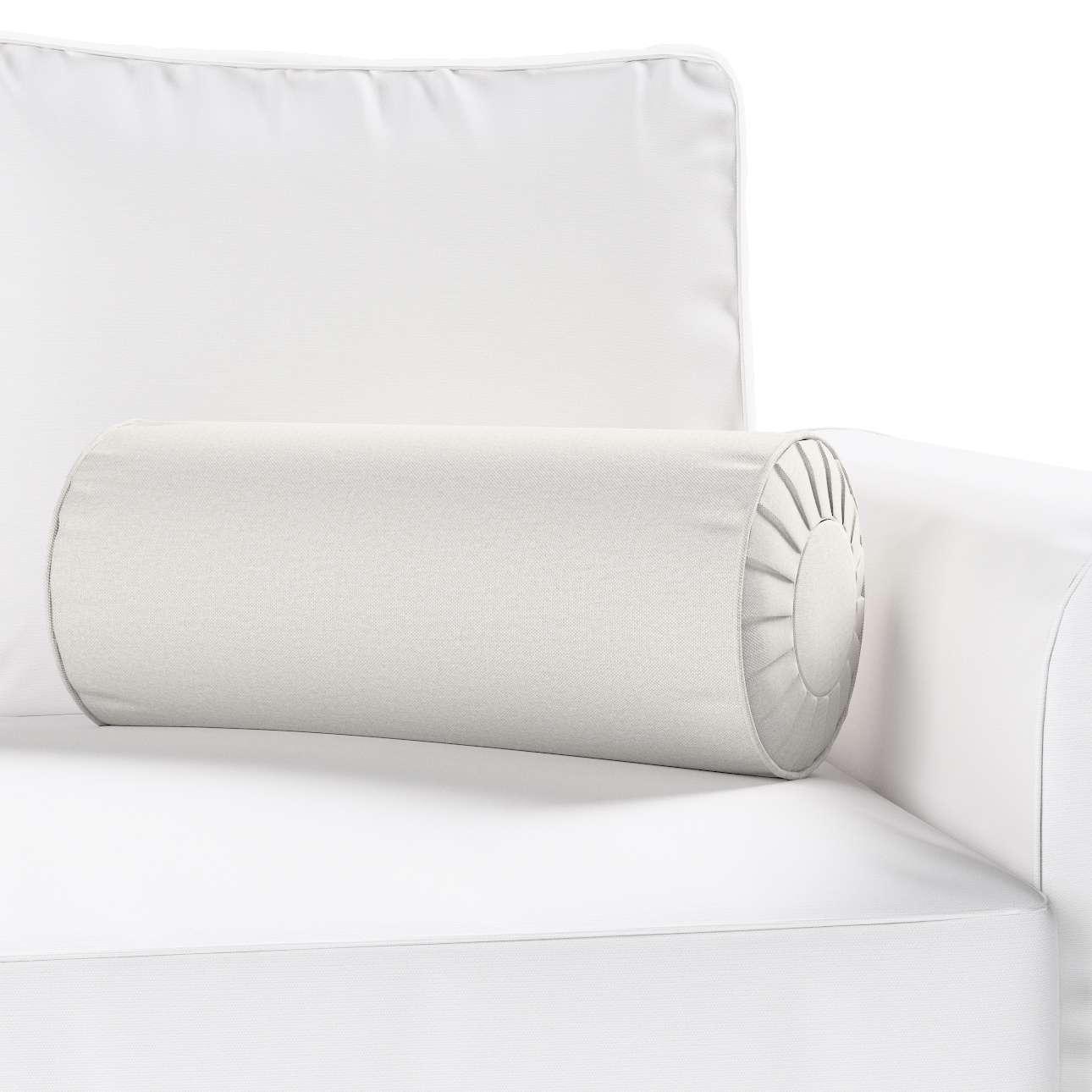 Ritinio formos  pagalvėlė su klostėmis Ø 20 x 50 cm kolekcijoje Etna , audinys: 705-90