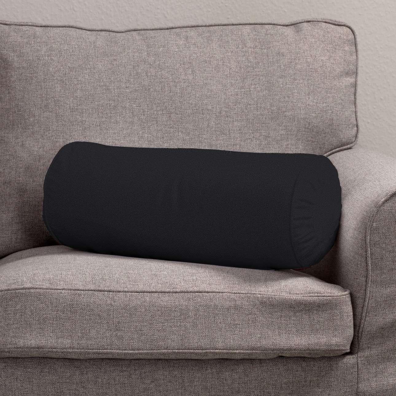 Poduszka wałek z zakładkami Ø 20 x 50 cm w kolekcji Etna , tkanina: 705-00