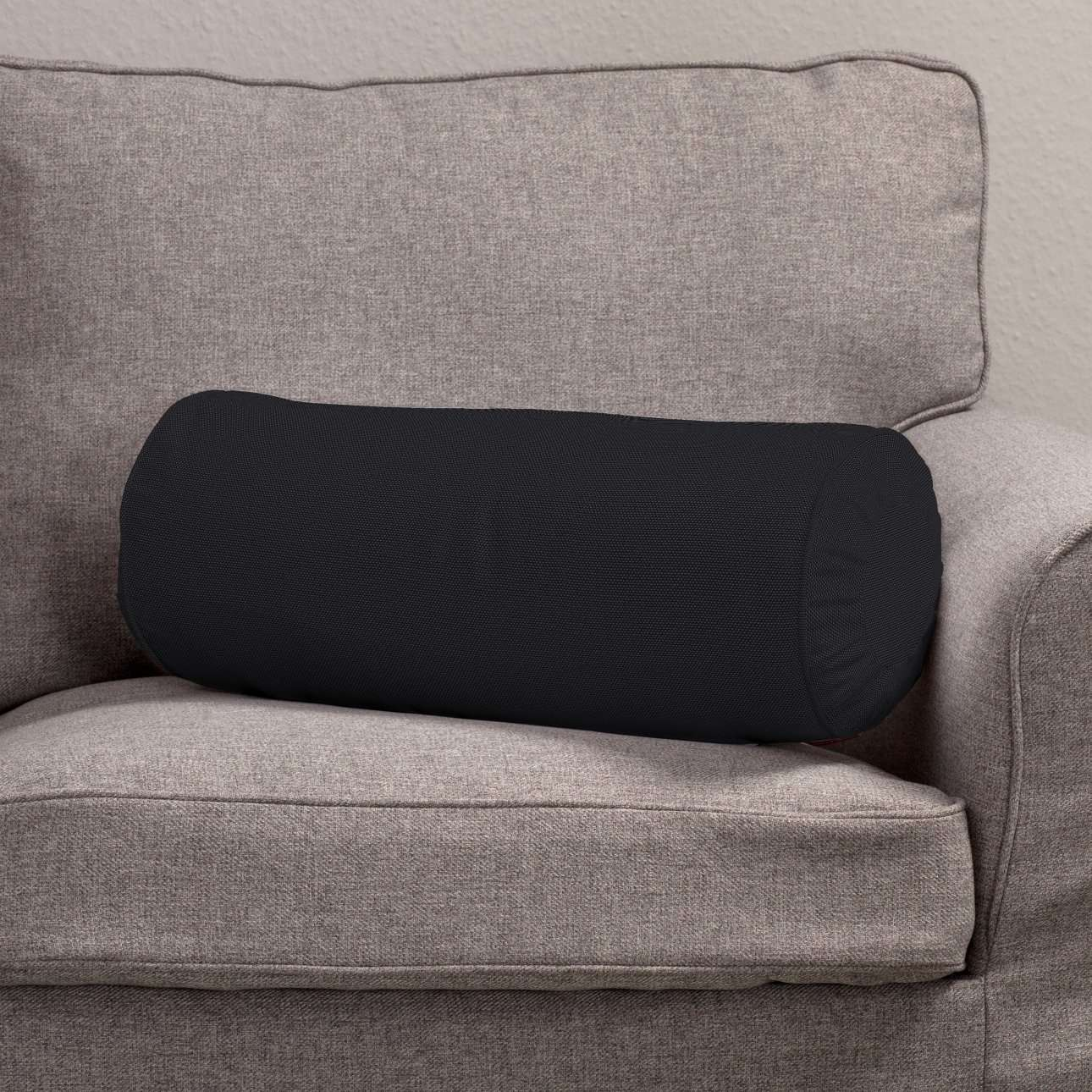 Ritinio formos  pagalvėlės užvalkalas su klostėmis Ø 20 x 50 cm kolekcijoje Etna , audinys: 705-00