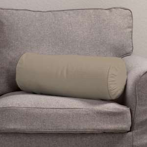 Ritinio formos  pagalvėlės užvalkalas su klostėmis Ø 20 x 50 cm kolekcijoje Cotton Panama, audinys: 702-28