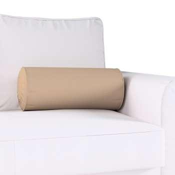 Hengerpárna hajtás díszítéssel a kollekcióból Cotton Panama Bútorszövet, Dekoranyag: 702-28