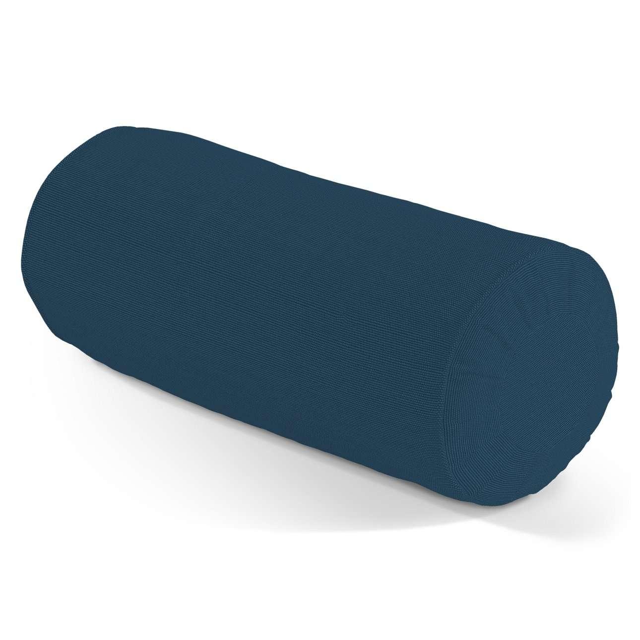 Ritinio formos  pagalvėlė su klostėmis Ø 20 x 50 cm kolekcijoje Cotton Panama, audinys: 702-30