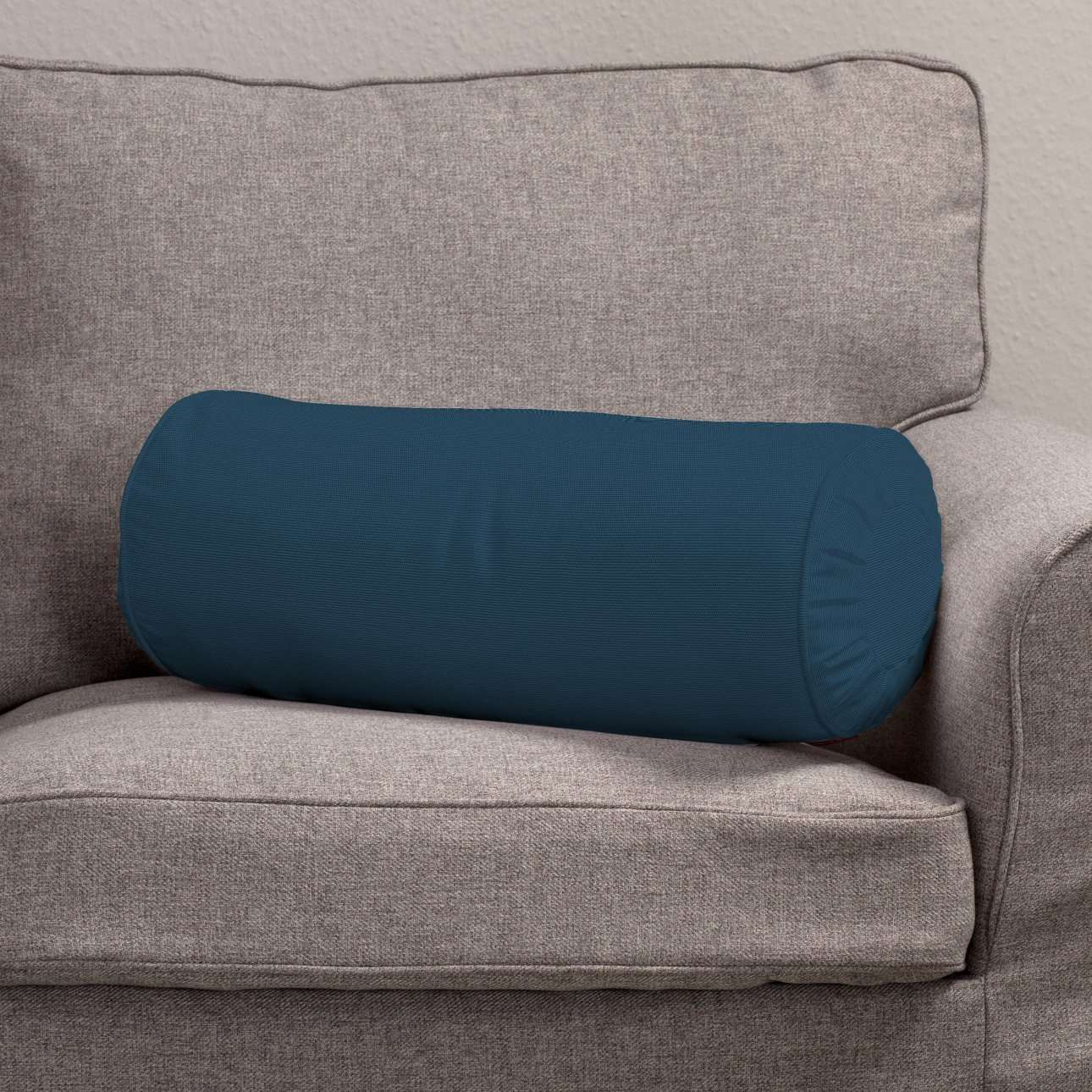 Bolster cushion with pleats in collection Panama Cotton, fabric: 702-30