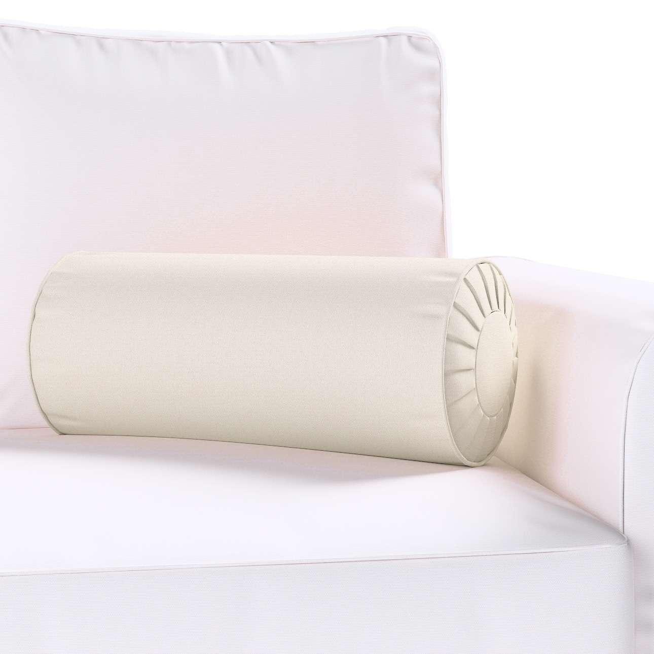Ritinio formos  pagalvėlės užvalkalas su klostėmis Ø 20 x 50 cm kolekcijoje Cotton Panama, audinys: 702-31