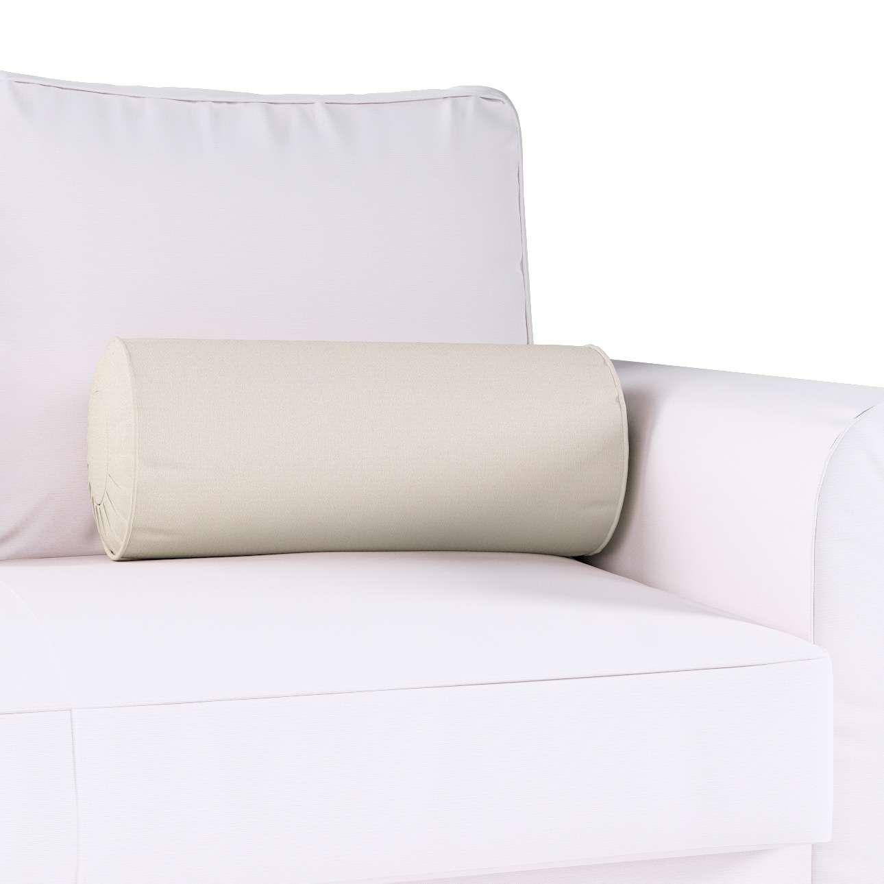 Nakkepude med folder fra kollektionen Cotton Panama, Stof: 702-31