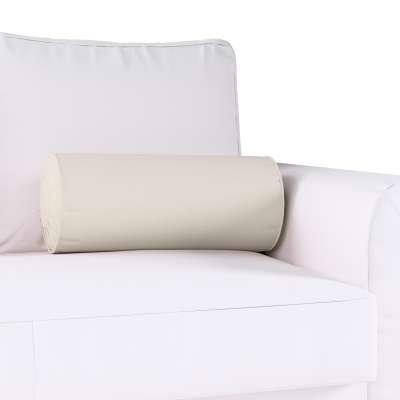Poduszka wałek z zakładkami w kolekcji Cotton Panama, tkanina: 702-31