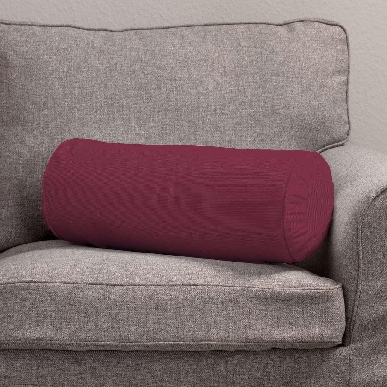 Ritinio formos  pagalvėlės užvalkalas su klostėmis Ø 20 x 50 cm kolekcijoje Cotton Panama, audinys: 702-32