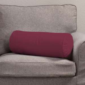 Ritinio formos  pagalvėlė su klostėmis Ø 20 x 50 cm kolekcijoje Cotton Panama, audinys: 702-32