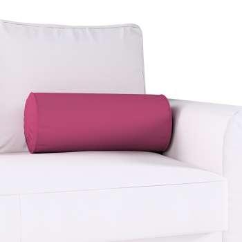 Poduszka wałek z zakładkami w kolekcji Cotton Panama, tkanina: 702-32
