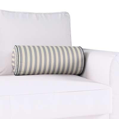 Poduszka wałek z zakładkami w kolekcji Quadro, tkanina: 136-02