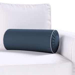 Ritinio formos  pagalvėlės užvalkalas su klostėmis Ø 20 x 50 cm kolekcijoje Quadro, audinys: 136-04