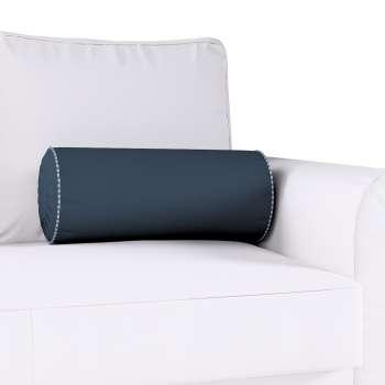 Ritinio formos  pagalvėlė su klostėmis Ø 20 x 50 cm kolekcijoje Quadro, audinys: 136-04