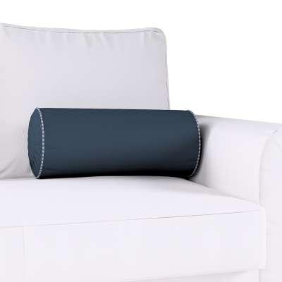 Poduszka wałek z zakładkami w kolekcji Quadro, tkanina: 136-04