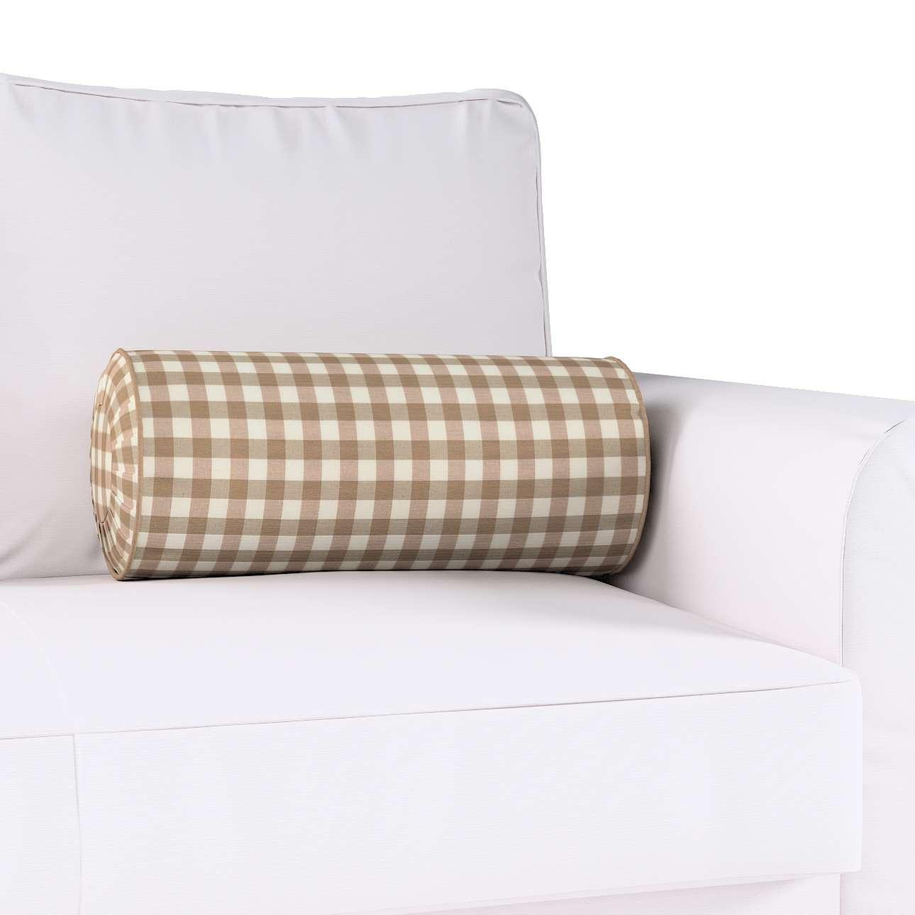 Ritinio formos  pagalvėlė su klostėmis kolekcijoje Quadro, audinys: 136-06