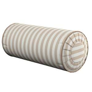 Ritinio formos  pagalvėlės užvalkalas su klostėmis Ø 20 x 50 cm kolekcijoje Quadro, audinys: 136-07