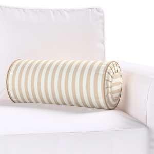 Ritinio formos  pagalvėlė su klostėmis Ø 20 x 50 cm kolekcijoje Quadro, audinys: 136-07