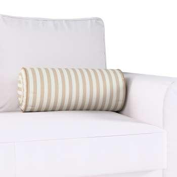Poduszka wałek z zakładkami w kolekcji Quadro, tkanina: 136-07