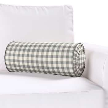 Poduszka wałek z zakładkami Ø 20 x 50 cm w kolekcji Quadro, tkanina: 136-11