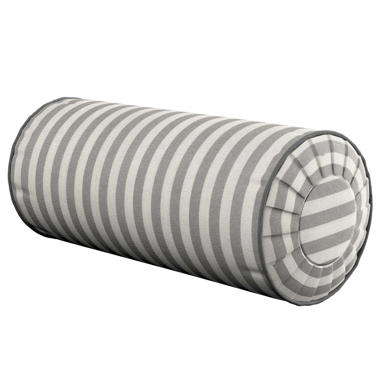Ritinio formos  pagalvėlė su klostėmis kolekcijoje Quadro, audinys: 136-12
