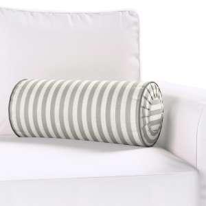 Ritinio formos  pagalvėlė su klostėmis Ø 20 x 50 cm kolekcijoje Quadro, audinys: 136-12