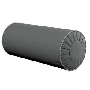 Ritinio formos  pagalvėlės užvalkalas su klostėmis Ø 20 x 50 cm kolekcijoje Quadro, audinys: 136-14