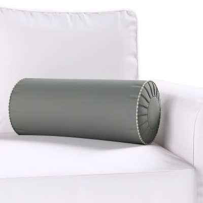 Poduszka wałek z zakładkami w kolekcji Quadro, tkanina: 136-14