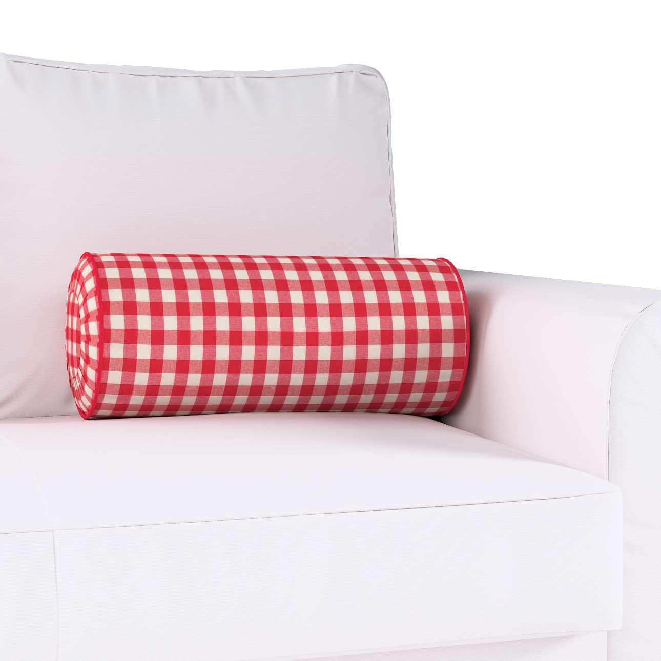 Ritinio formos  pagalvėlė su klostėmis kolekcijoje Quadro, audinys: 136-16