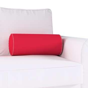 Poduszka wałek z zakładkami w kolekcji Quadro, tkanina: 136-19