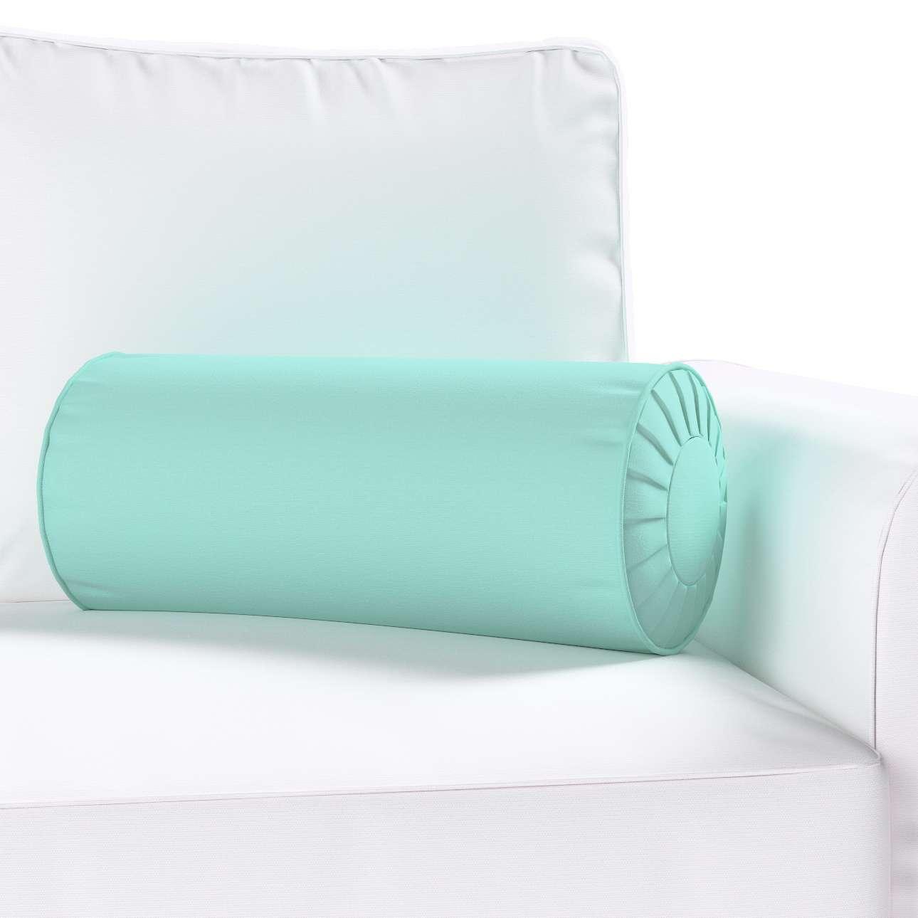 Poduszka wałek z zakładkami w kolekcji Loneta, tkanina: 133-32