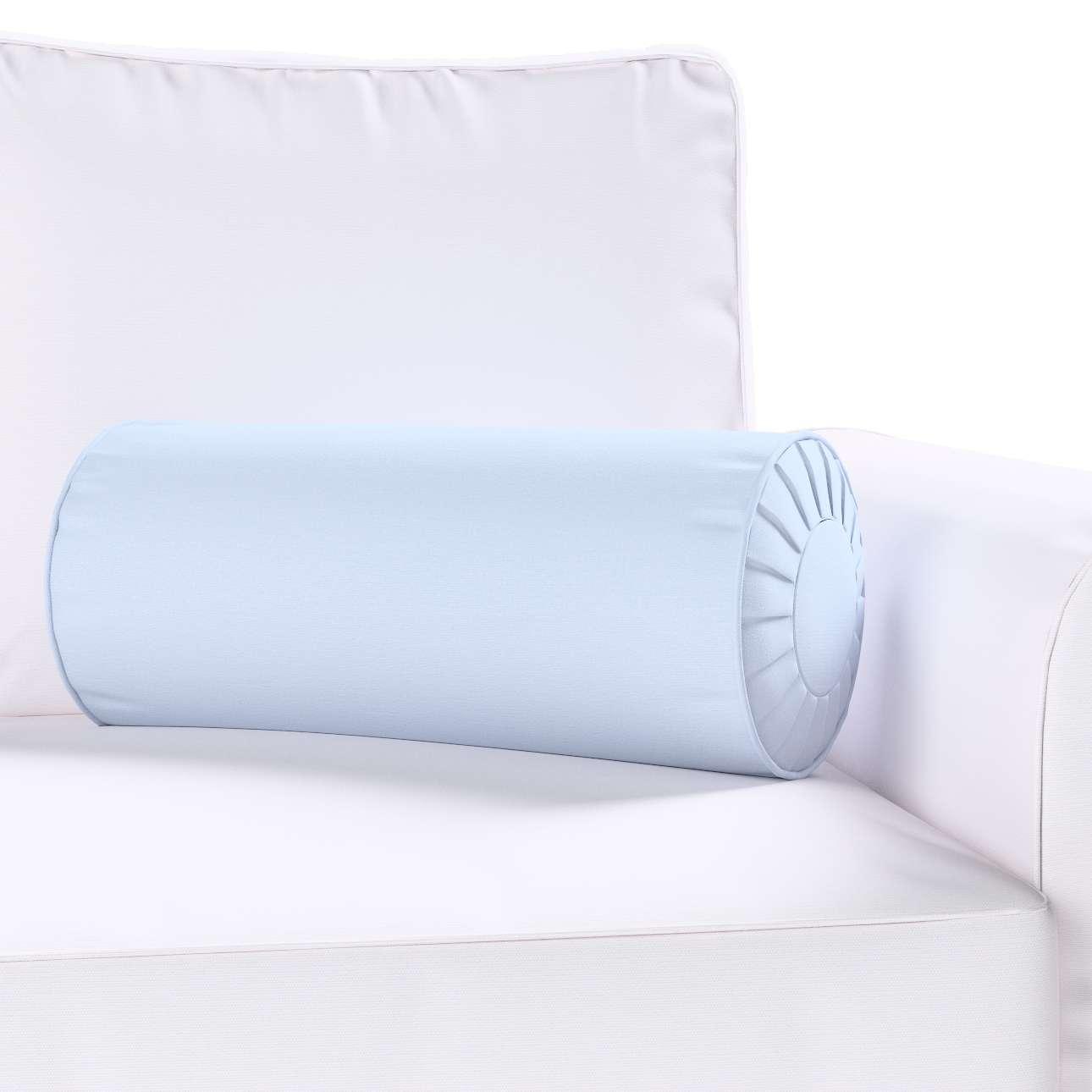 Ritinio formos  pagalvėlė su klostėmis Ø 20 x 50 cm kolekcijoje Loneta , audinys: 133-35