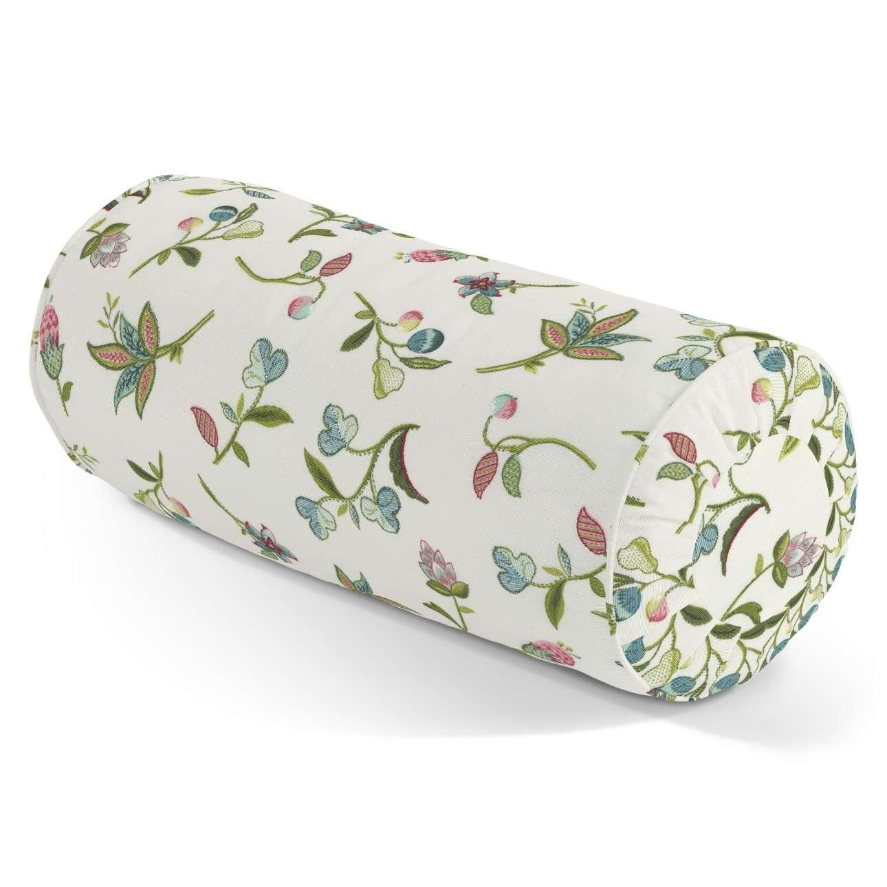 Ritinio formos  pagalvėlė su klostėmis Ø 20 x 50 cm kolekcijoje Londres, audinys: 122-02